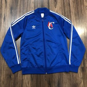 ADIDAS CLIPPERS TRACKSUIT JACKET